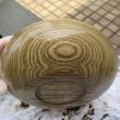 栗材の菓子器と欅材の小鉢