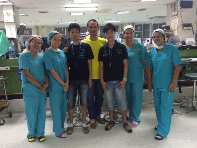 ブリラムの病院で IMG_0734